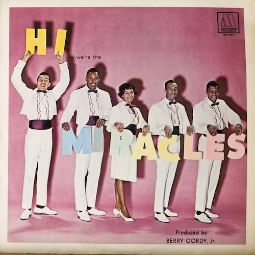 Hi We're The Miracles/The Miracles (MOTOWN M5-160V1) LP