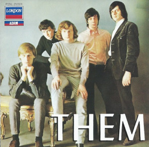THEM/THEM(Decca/LONDON ポリドールP25L 25024)