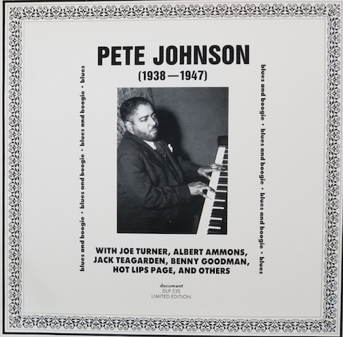 Pete Johnson 1938-1947 /Pete Johnson (document DLP-535)