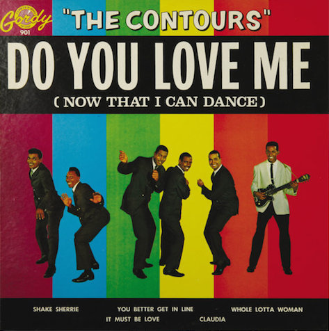 Do You Love Me/The Contours (Gordy/Wax Time 772206)