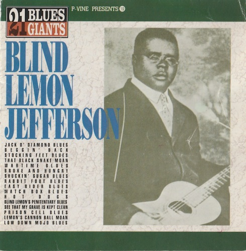 21BLUES GIANTS BLIND LEMON JEFFERSON/Blind Lemon Jefferson (P-Vine PCD-3759)