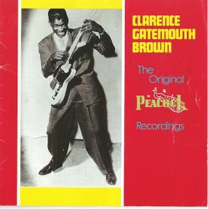 "Clarence ""Gatemouth"" Brown/Original Peacock Recordings (Peacock/ROUNDER CD2039)"